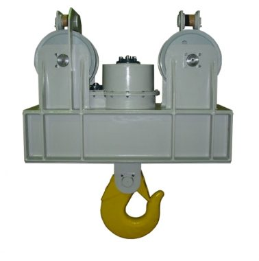 Electric rotating hook 40Ton